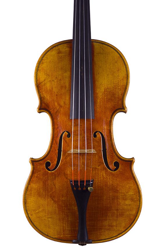 """Violon 2019, d'après le """"Titian"""" d'Antonio Stradivarius 1715."""