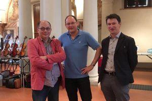 Andy Lim, Vadim Tchijik, et Nicolas Gilles.