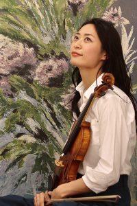 Rino Negaki, Kyoto, Japan. Violinist.