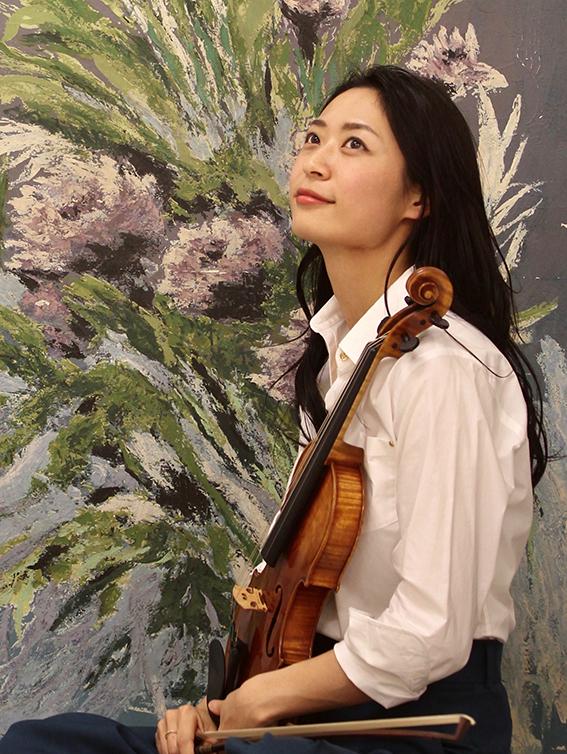 Rino Negaki, Kyoto, Japan. Violoniste