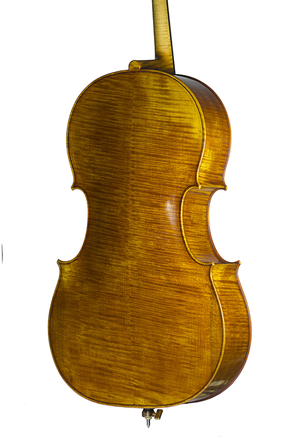 """Violoncelle 2018, d'après Antonio Stradivari, le """"Cristiani"""" 1700."""