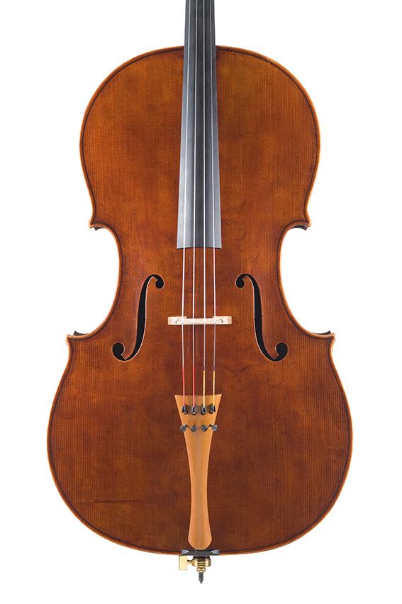 """Violoncelle 2010, d'après Antonio Stradivari, le """"Cristiani"""" 1700."""