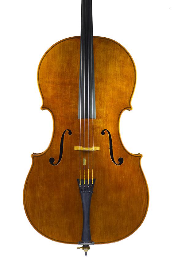 """Violoncelle 2016, d'après Antonio Stradivari, le """"Cristiani"""" 1700."""
