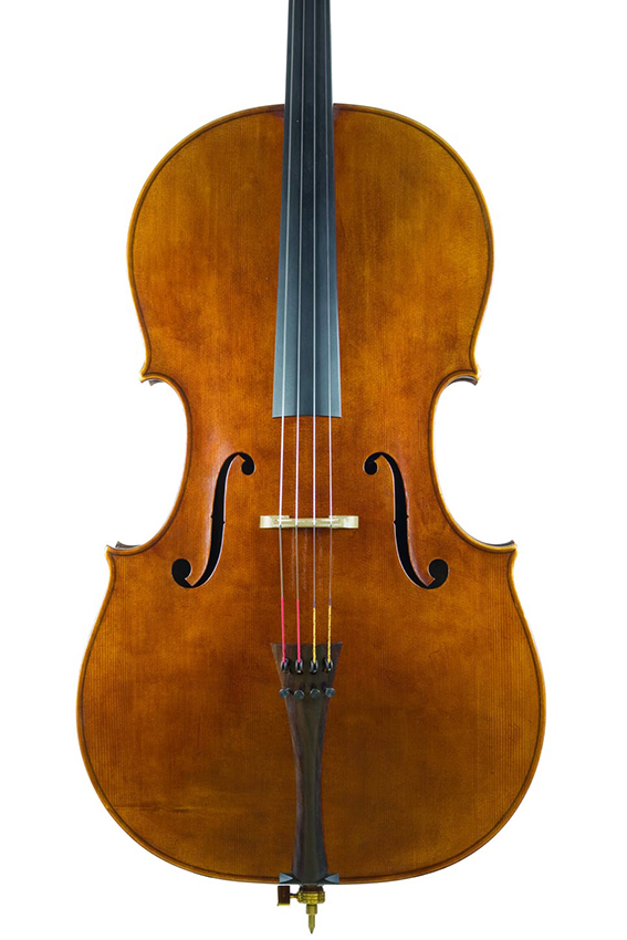 """Violoncelle 2012, d'après Antonio Stradivari, le """"Cristiani"""" 1700."""