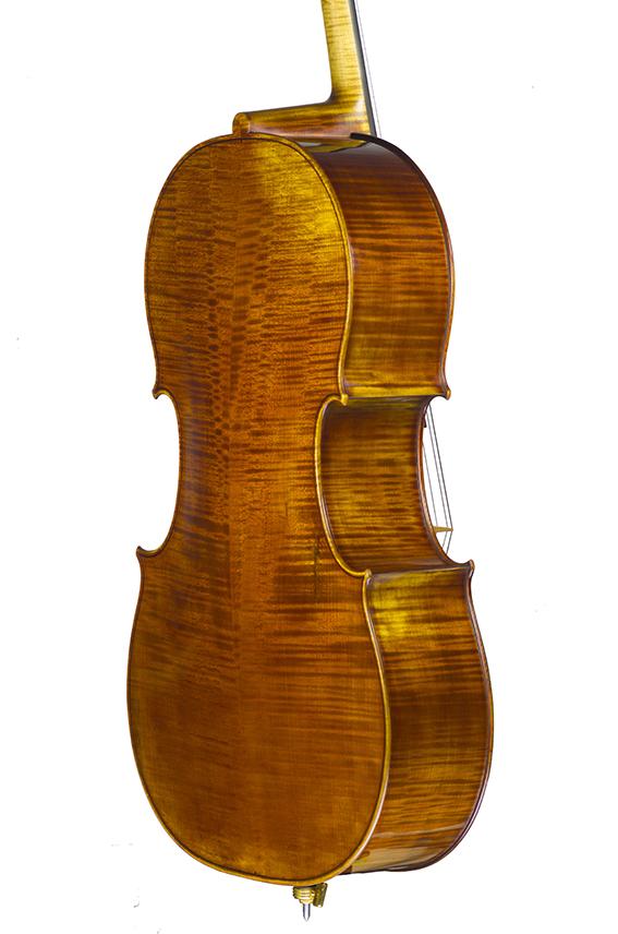 """Violoncelle 2019, d'après Antonio Stradivari, le """"Cristiani"""" 1700."""
