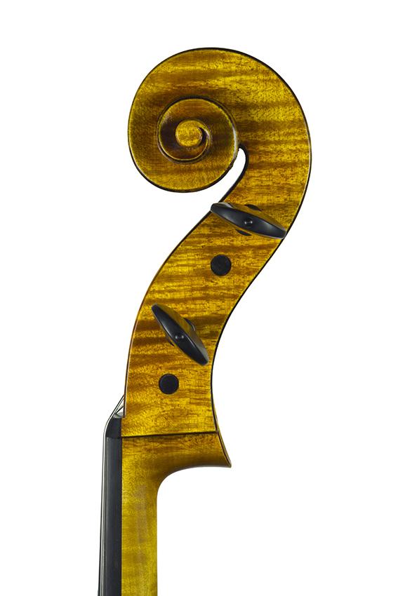 """Violoncelle 2017, d'après Antonio Stradivari, le """"Cristiani"""" 1700."""