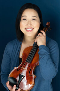 Jennie Baccante, violinist.