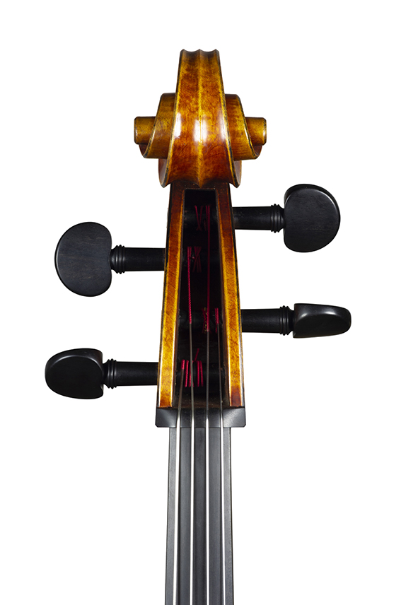 Violoncelle Cello 2020 nicolas gilles head front