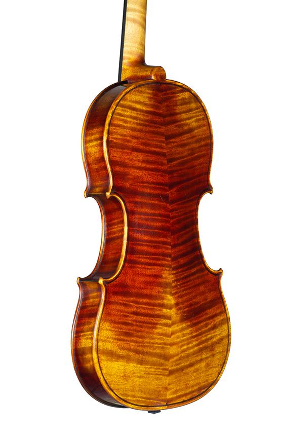 Violin Nicolas Gilles july 2021 back net 3 4
