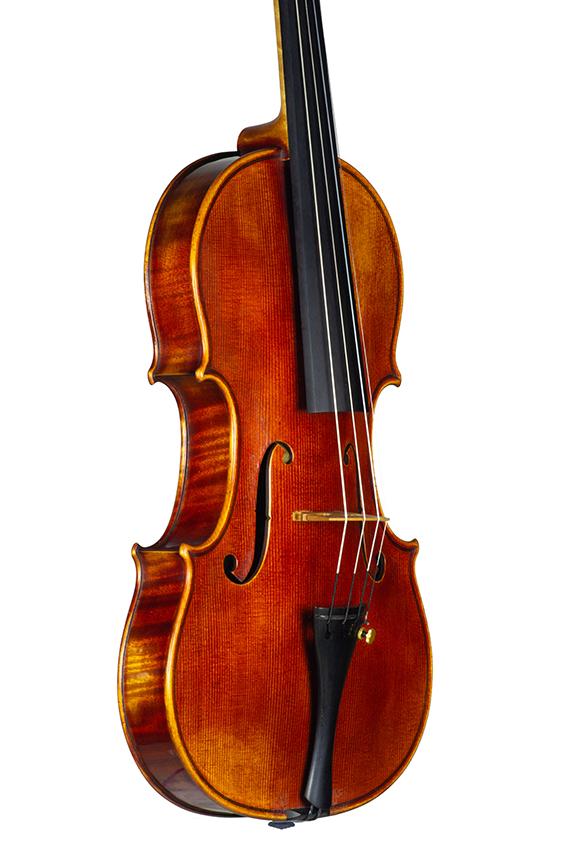 Violin Nicolas Gilles july 2021 front 3 4 net