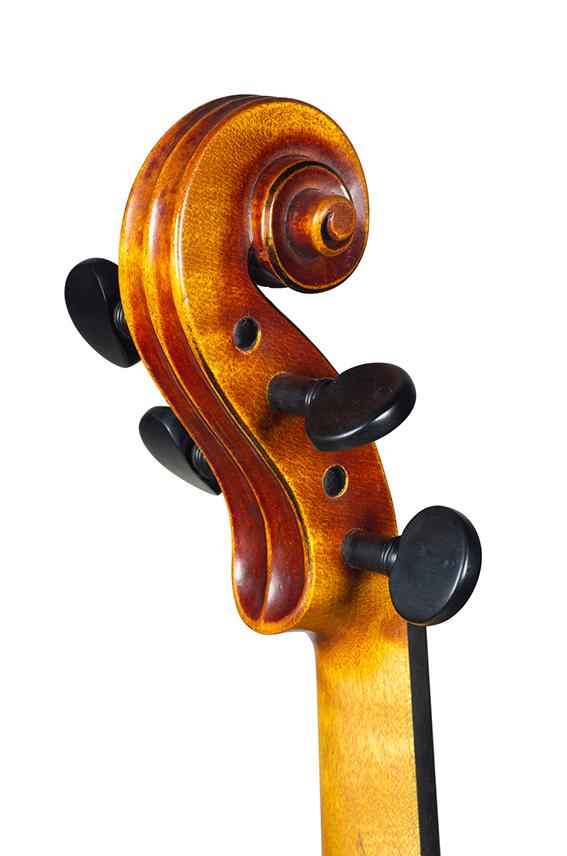 Violin Nicolas Gilles july 2021 head back 3 4 net